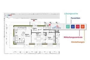 Saint-Gobain Plug-In: Schnellzugriff auf über 10.000 Bauteil-Lösungen in BIM-Qualität.