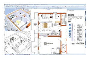 """Saint-Gobain BIM-Assistent """"Allplan"""": Das gewünschte Bauteil aus den jeweiligen Assistenten auswählen und damit das Bauteil zeichnen."""
