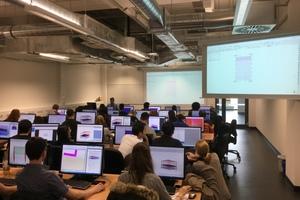 Universitäten, die BIM-Programme anbieten, sollen<br />junge Bauingenieure auf die digitale Zukunft<br />vorbereiten – hier Ruhruniversität Bochum.<br />