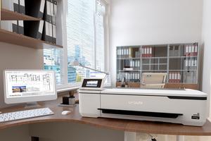 """Der """"SureColor SC-T3100"""" ist eine preiswerte, großformatige CAD-/CAM-/GIS-Drucklösung für Architekten und Bauingenieure."""