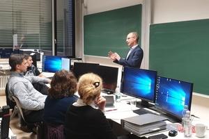 Poolraum des Zertifikatsstudium Building Information Modeling (BIM)