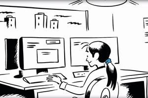"""<div class=""""bildtext"""">Dort kann die eingesparte Zeit für die Weiterverarbeitung, Verwaltung und Überwachung der digitalen Daten genutzt werden.</div>"""
