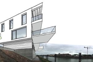 """<div class=""""bildtext"""">Torben Wadlinger und graf+ partner Architekten realisieren aktuell ein Wohnhaus am Rhein in Ludwigshafen.</div>"""