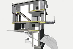 """<div class=""""bildtext"""">BIM für größere Wohnbauprojekte liegt nahe. Aber auch für kleinere Bauvorhaben, so wie dieses Wohnhaus, kann es Vorteile bieten.</div>"""