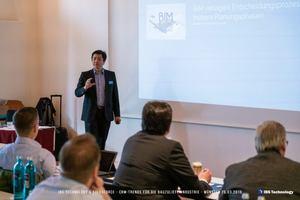 """<div class=""""bildtext"""">Auf drei Branchen-Events von IBS Technology tauschten sich Bauzulieferer über Digitalisierung, KI und CRM aus. </div>"""