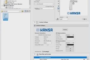 """<div class=""""bildtext"""">Als umfangreiche Datenbasis sorgen die Hansa- BIM-Daten für eine sichere, effiziente Planung und einen optimalen Informationsaustausch.</div>"""