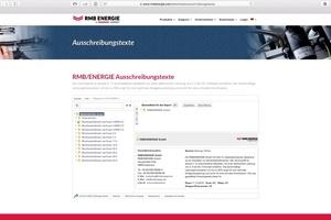 """<div class=""""bildtext"""">Über ein Plugin auf der Webseite von RMB/ENERGIE gelangt man direkt zu den Ausschreibungsformularen.</div>"""