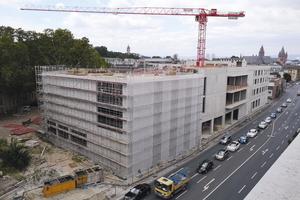 """<div class=""""bildtext"""">Insgesamt 14.500 m<sup>2</sup> Nutzfläche wird der Neubau für das Museum haben.</div>"""
