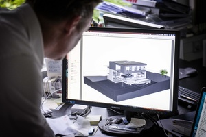 """<div class=""""bildtext"""">Beispielhafte Planung einer Villa (EFH)</div>"""