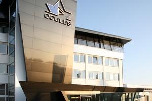 """<div class=""""bildtext"""">Erweiterung des Firmensitzes Oculus, Dutenhofen</div>"""