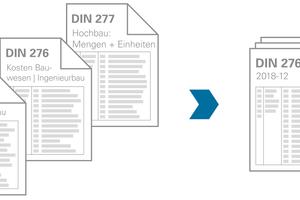"""<div class=""""bildtext"""">Überführung von der alten DIN 276 in die aktuelle Version</div>"""