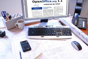 "<div class=""bildtext"">Programme wie ""LibreOffice"" und ""OpenOffice"" bieten Nützliches zum Nulltarif.</div>"