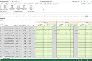 """<div class=""""bildtext"""">Mit dem optionalen Zusatzmodul """"Excel-Aufmaß"""" generiert """"GAEB-Online 2018"""" auch prüfbare Aufmaße und Rechnungen, was Zahlungsprozesse verkürzen kann. </div>"""