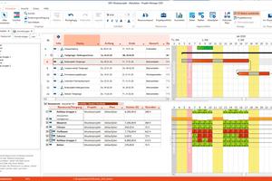 "<div class=""bildtext"">Das Modul ""Ressourcenplanung"" der Bauzeiten- und Budgetplanungssoftware ""Projekt-Manager 2020"" optimiert den Ressourceneinsatz.</div>"