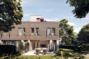 """<div class=""""bildtext"""">Mehrfamilienhäuser mit insgesamt 36 Wohnungen (Rendering)</div>"""