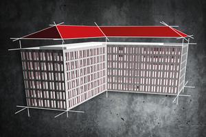 """<div class=""""bildtext"""">Mit dem """"Dach-Modellierer"""" in """"Allplan 2020"""" lassen sich Dachflächen auf Basis von Eigenschaftenpaletten modellieren. </div>"""