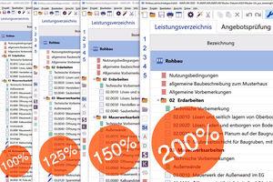 """<div class=""""bildtext"""">Die Darstellung von """"Avaplan 2020"""" am Monitor lässt sich bis auf 200 % skalieren.</div>"""