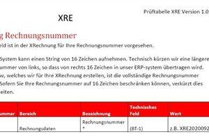 """<div class=""""bildtext"""">Wichtige Informationen von der Deutschen Bahn zu Pflichtelementen in der XRechnung, hier zur Rechnungsnummer</div>"""