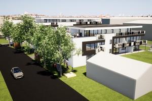"""<div class=""""bildtext"""">In der Nähe der Günzburger Altstadt sollen bis zum Jahr 2023 zwei Wohntürme mit insgesamt 21 Wohneinheiten für seniorengerechtes Wohnen entstehen. </div>"""