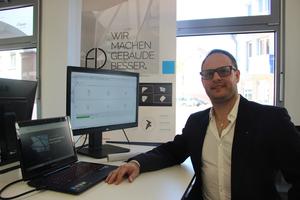 """<div class=""""bildtext"""">Dr. Manuel Mühlbauer, Gründer von Futureimmersion, Experte für Building Information Modeling und Künstliche Intelligenz im Architekturentwurf</div>"""