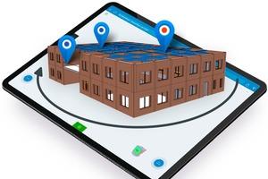 """<div class=""""bildtext"""">Ein neues BIM-Feature in der Software von PlanRadar erleichtert die Navigation und Verortung von Sachverhalten innerhalb von BIM-Modellen.</div>"""
