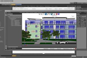 """<div class=""""bildtext"""">""""Nevaris Build 2021"""" verfügt u.a. über einen neuen 3D-Viewer mit Messfunktionen.</div>"""