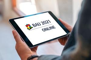 """<div class=""""bildtext"""">Die BAU wird sich 2021 in einem komplett digitalen Format präsentieren.</div>"""