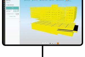 """<div class=""""bildtext"""">Mit der """"SCIA AutoConverter""""-Technologie, die neu in """"Allplan 2021"""" verfügbar ist, lassen sich Gebäudemodelle intelligent in statische Modelle umwandeln. </div>"""