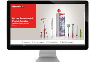 """<div class=""""bildtext"""">Der fischer-Produktberater ist auch als Webversion für den PC verfügbar. </div>"""