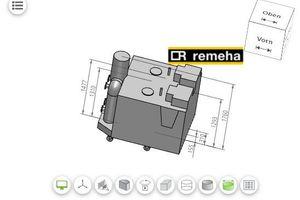 """<div class=""""bildtext"""">Remeha bietet umfangreiche CAD- und BIM-Daten zum kostenlosen Herunterladen.</div>"""